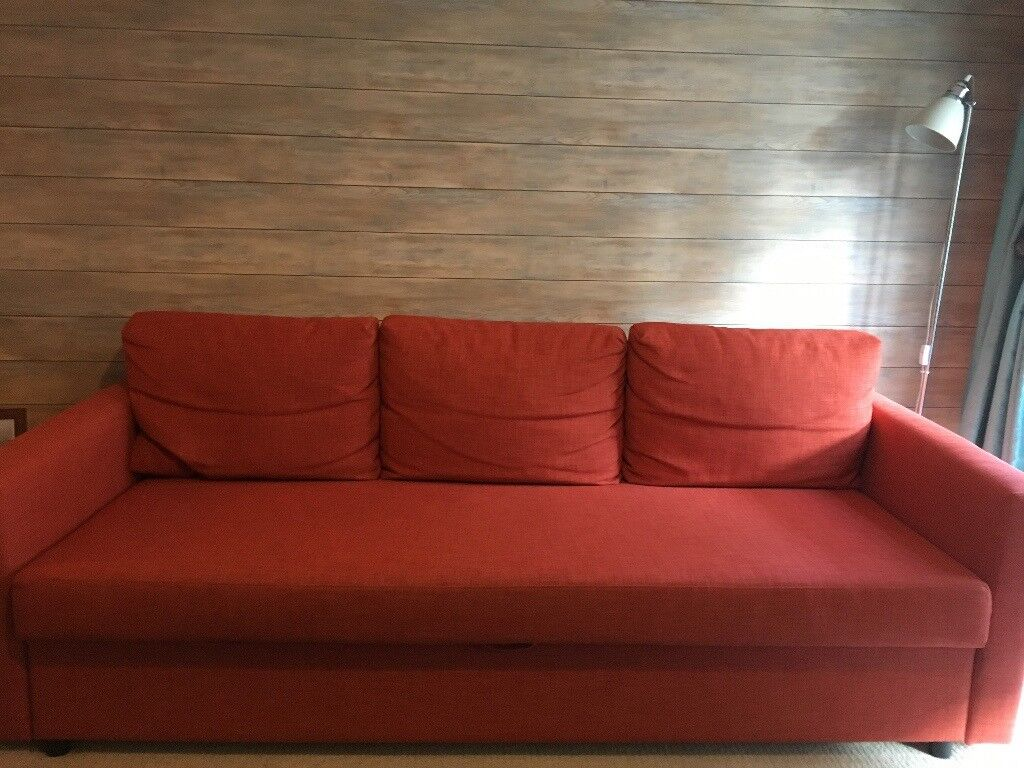 Ikea Sofa Beds Uk: Ikea Double Sofa Bed With Storage