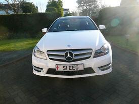 Mercedes C Class Coupe C220 CDI BlueEFFICIENCY AMG Sport Sport Coupe 7G-Tronic Plus 2dr REDUCED
