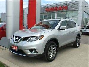 2015 Nissan Rogue SL premium, navigation, BOSE, Bluetooth