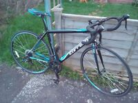 """Carrera Road Bike 20"""" Frame. 14 speed. Excellent condition."""