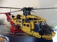 Lego Technic 9396 Rescue Helicopter