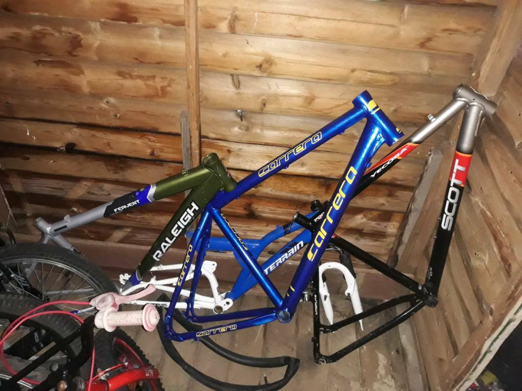 Sold Sold Joblot Of Bike Parts In Upton West Yorkshire Gumtree