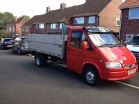 FORD TRANSIT 190L PICKUP DOUBLE DROP ALUMINIUM BODY