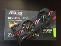ASUS GTX680 Direct CU II TOP 2GB Graphics Card