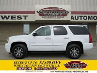 2007 GMC Yukon BRIGHT WHITE SLT 4X4, LEATHER, SUNROOF, DVD, EXTR