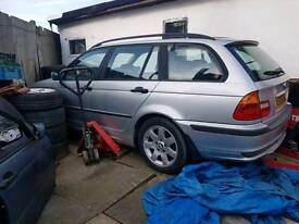 Bmw e46 estate breaking complete car