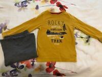 Boy's long sleeve top bundle jumper sweater age 6 years