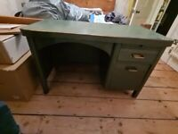 Industrial vintage desk / workbench