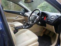 08 Mondeo 2.0TDCI Ghia 140 Midnite Blue Mtllic. 56MPG.Sony 6CD.Htd frnt scrn.long mot£1850.00