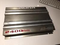 Auna 2400 watt car amp