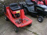 ride on mower mtd pinto suit small garden £300