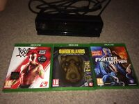 Xbox Kinect and 3 games