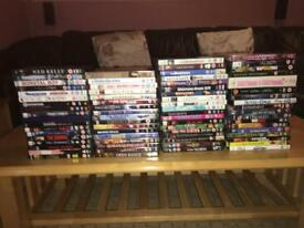 76 DVD's in mint condition