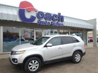 2012 Kia Sorento LX With 3rd Row Seating, AWD, Seats 7 People