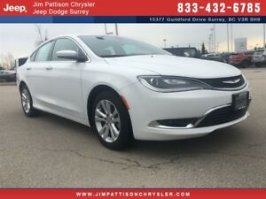 2016 Chrysler 200 Limited - Loaded, Low Kms!