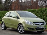 Vauxhall Corsa 1.2 2007 i 16v Design 3dr (a/c) **LOW MILES +READY TO DRIVE AWAY**