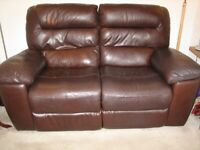Electric Reclining 2 Seater Sofa
