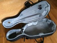 1/2 size cello lightweight hard case