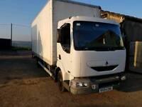 Renault Midlum 7.5 removal box truck