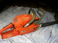 Husky chainsaw