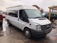 Ford Transit 2.4 TD 430 L Bus 5dr (17 Seat)£5,995 p/x welcome NEW MOT. FINANCE AVAIL