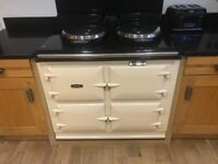 AGA GC3 THREE OVEN GAS FIRED POWER FLUE WITH AIMS REMOTE CONTROL