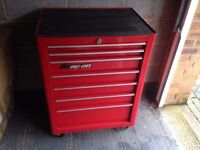 snap on roll cab /toolbox in red