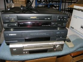 3 VHS Video Recorder Players Weymouth Free Local Delivery