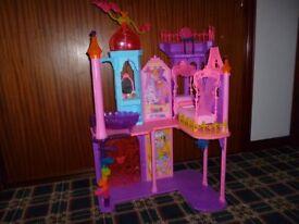 barbie castle in excellent condition