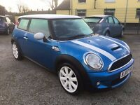 Mini Hatch 1.6 Cooper S Hatchback 3dr Petrol Manual 2KEYS+GREAT LOOKS+ 1/2LEATHER