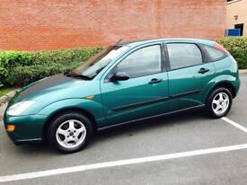 Ford Focus 2000 1.6 LX LOW MILEAGE
