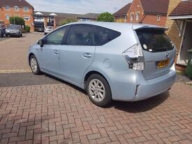 TOYOTA PRIUS PLUS 12 REG 2012 ONLY 52223 MILES 7 SEATER HPI CLEAR