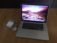 MacBook Pro 15-inch, 2.5 GHz with charger