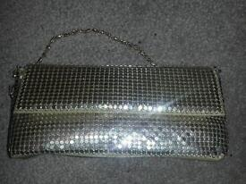 Gold cluch bag new