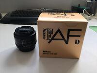Nikon 50mm f1.8 AF-D Lens - Mint Condition