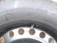 Space saving wheel