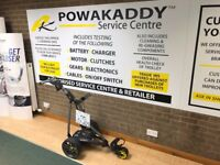 Powakaddy Golf FW7s Electric Trolley - 36 Hole Battery & Charger