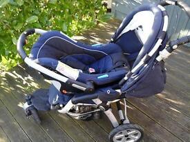 """Jane"" Pro Generation baby travel system."