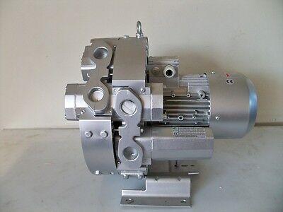 Regenerative Blower 5.0hp 62cfm 340h2o Press 220480v3ph Goorui 4d4 34 2r4