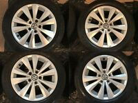 VW Toronto 16inch alloy wheels with tyres ONO