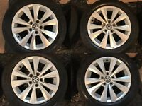 VW Toronto 16inch alloy wheels with tyres