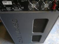 Ohm450 bass bin and 1ch Amp