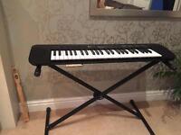 Casio electronic keyboard.