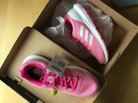 Ladies boots and adidas trainers size 7