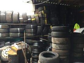 """Cheapest and best part worn tyres in the county, 13"""", 14"""", 15"""", 16"""", 17"""""""