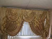 Curtains swags and tails