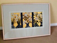 A limited edition 1 of 10 of an etching by Irish artist Jean Bardon who is well known in Dublin.