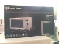 ***Russel HOBBS***BRAND NEW***microwave and combi oven.WITH FAN INSIDE!COOKS LIKE A NORMAL OVEN