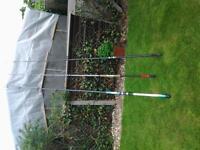3x BeachFishing Rods