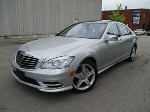 2011 Mercedes-Benz S-Class S550 4MATIC AMG PKG FULLY LOADED